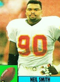 Best Athletes by the Numbers NFL Athlete Number 90 Neil Smith