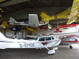 Packed hangar at Jesenwang