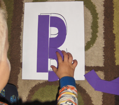 printable build a letter puzzles