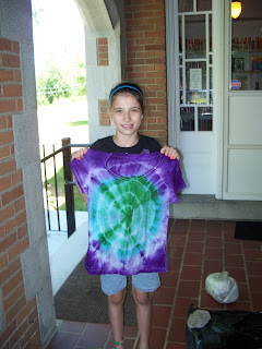 tie dyed t-shirt by Kayla