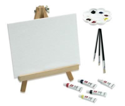 Dibujando y pintando pintura al leo cuarta parte - Materiales para pintar ...