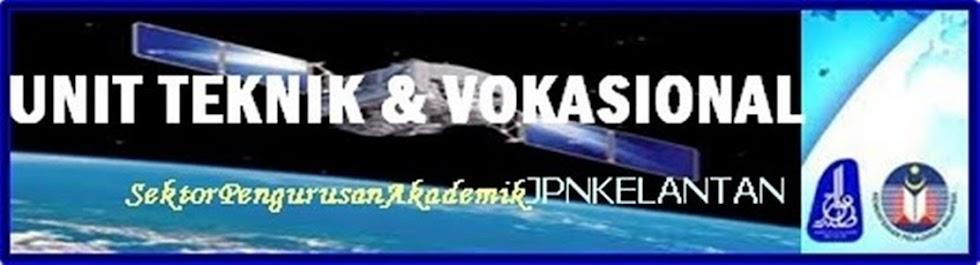 UNIT TEKNIK VOKASIONAL JPN KELANTAN
