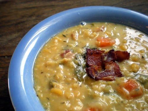 Foy Update: Yellow Split Pea Soup - Recipe
