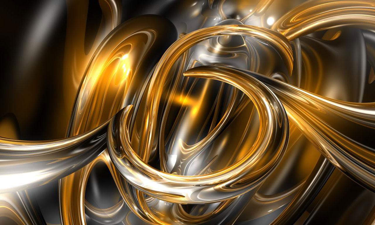 Gold Abstract Background Wallpaper Wallpapers And Pictures