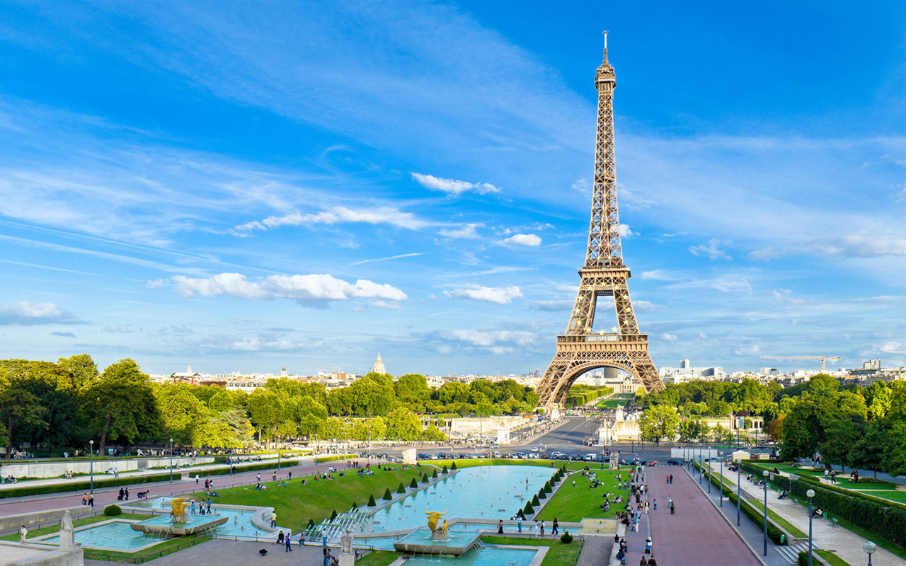 Summer In Paris Hd Widescreen Wallpapers