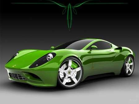 ferrari green
