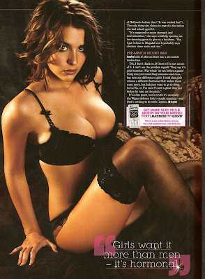 Gemma Atkinson in Loaded Magazine