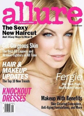 Fergie in Allure Magazine, fergie of black eyed peas, sexy fergie, naked fergie of black eyed peas