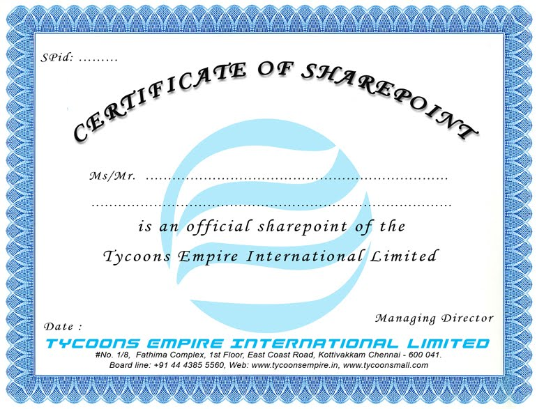Attention tycoons family members tycoons empire franchisee tycoons empire franchisee sharepoint and distributor certificate model altavistaventures Choice Image