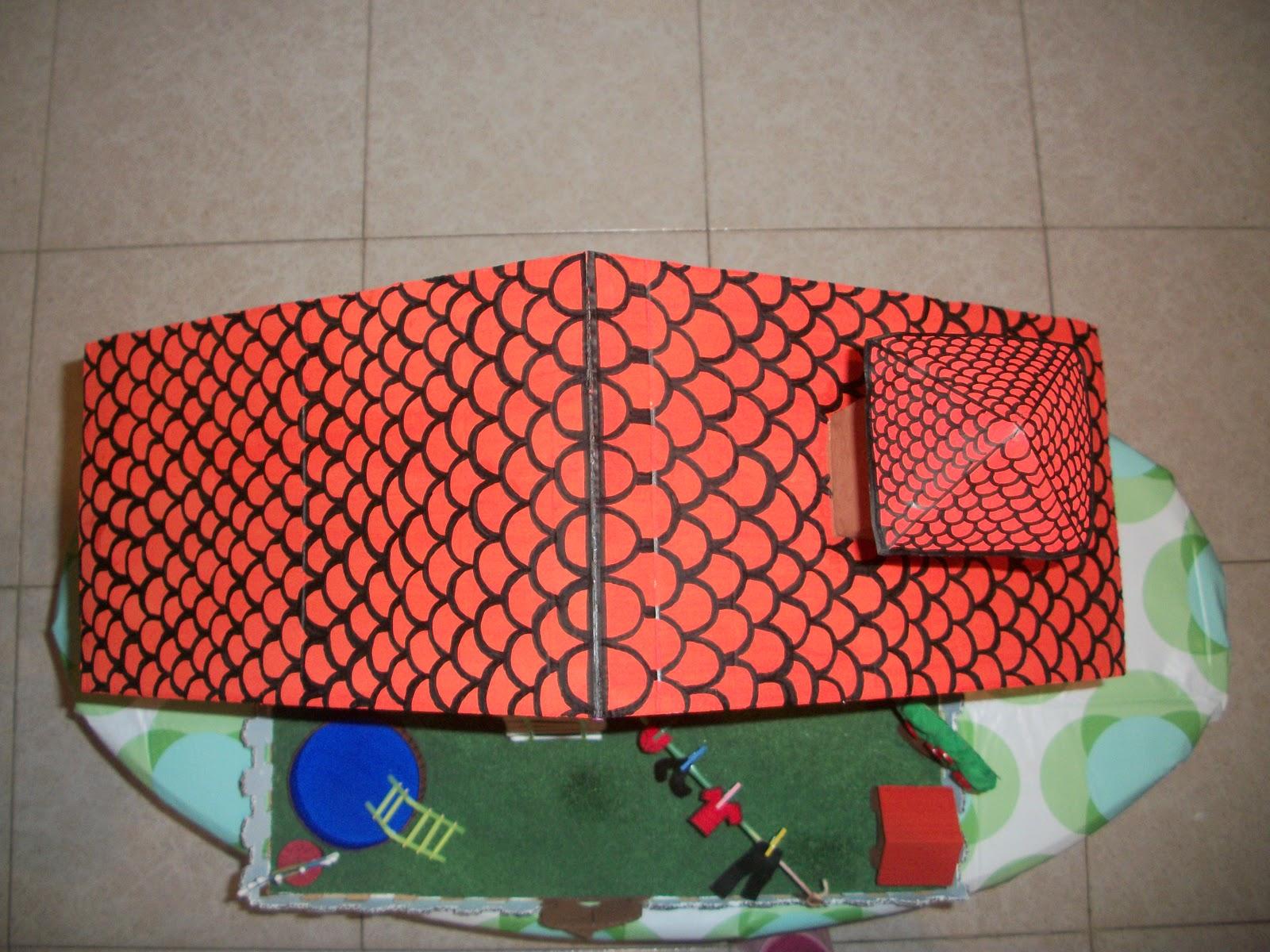 #C01E0C MARAVILLAPINOLANDIA!!: Juguete con materiales reciclados 1600x1200 px Banheiros Decorados Com Material Reciclado 1203