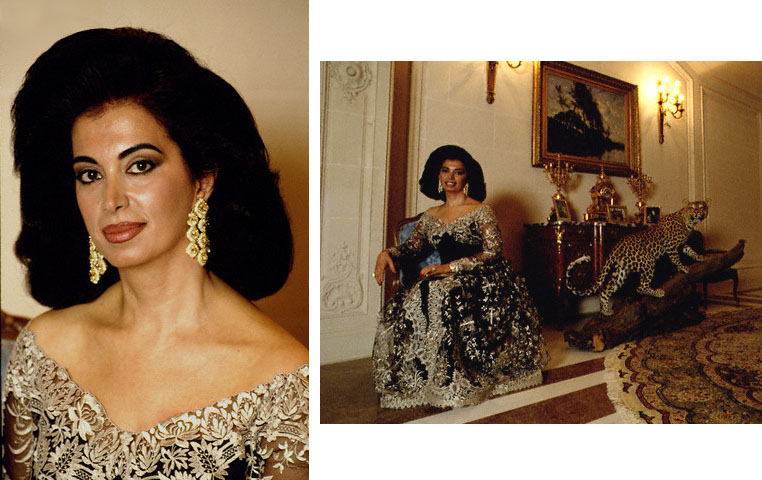 The polyglot lebanese couture client nazek hariri for Haute couture clients