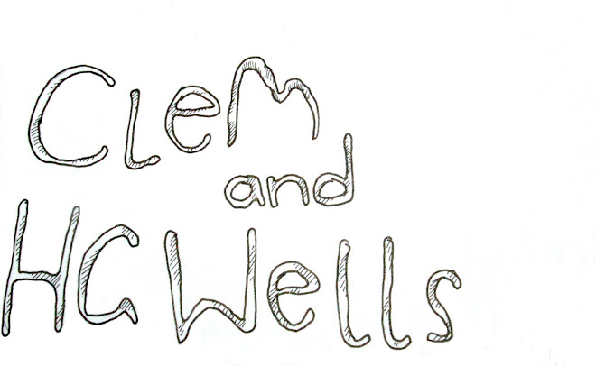 Clem and H G Wells