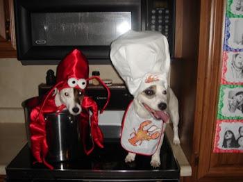 หมาทำกับข้าว