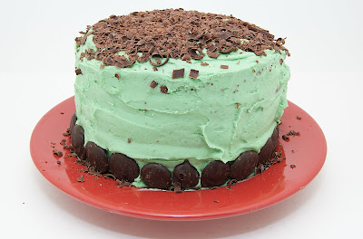 The Ginger Cook: Mint Chocolate Chip Cake