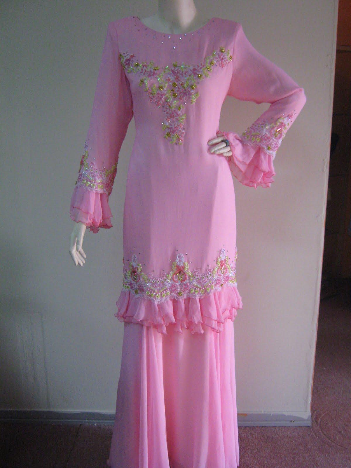 This Picture Fesyen Baju Kurung Moden Kain Lace Portal Pictures