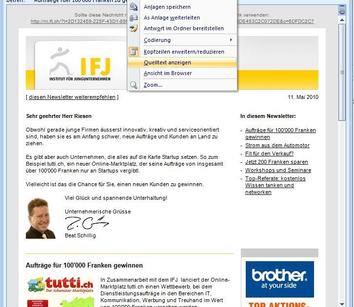 Outlook 2007 kennenlernen