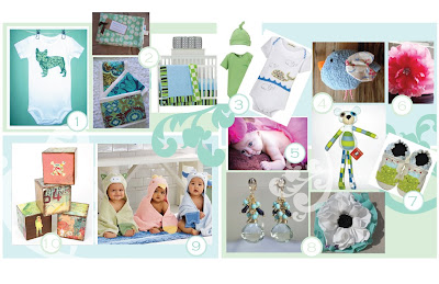 Ideas  Baby Presents on Gift Ideas Quick 1 From Martha Stewart S Baby Idea Collection Keep