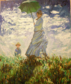 copy of monet painting