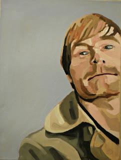Original oil portrait of my brother