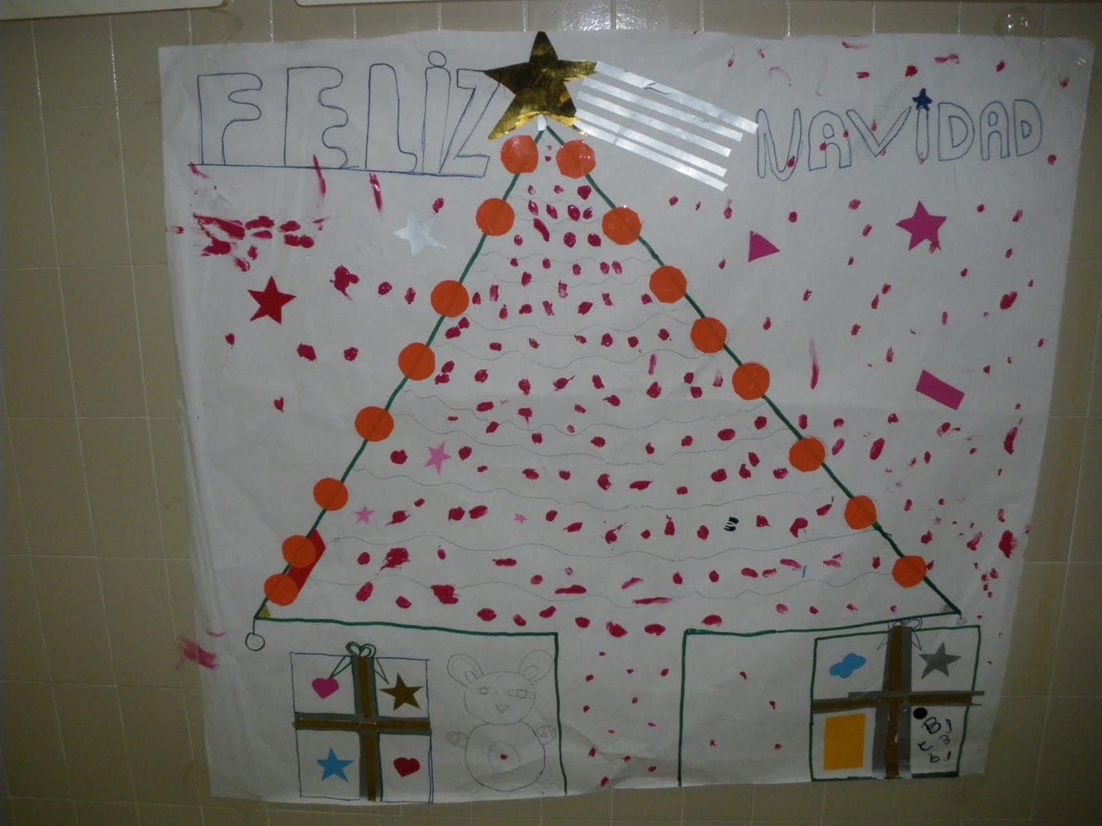 L s 7 magn fic s murales de navidad - Murales decorativos de navidad ...