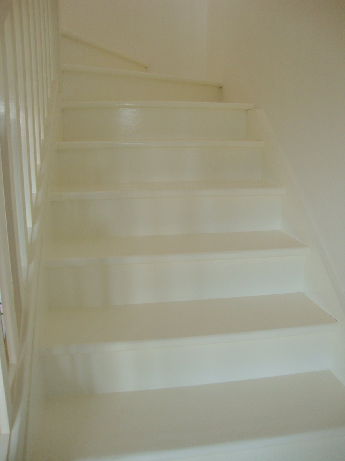 White Painted Timber Stairs