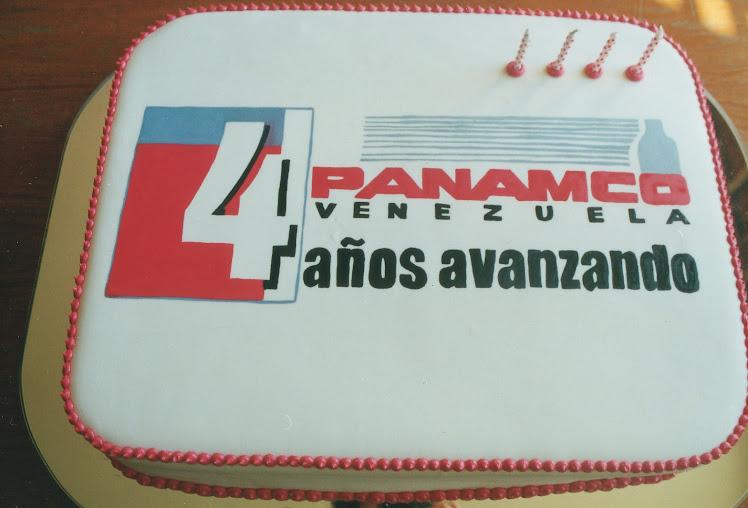Panamco, 4to. Aniversario