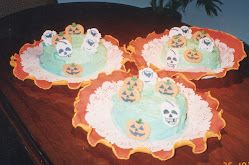 Calaveras, Fantasmas y Calabazas de Halloween