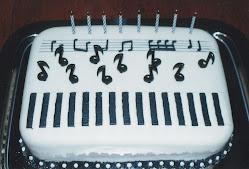 Una torta musical
