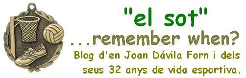 ...remember when? (Joan Dávila Forn - 32 anys d'esport actiu)