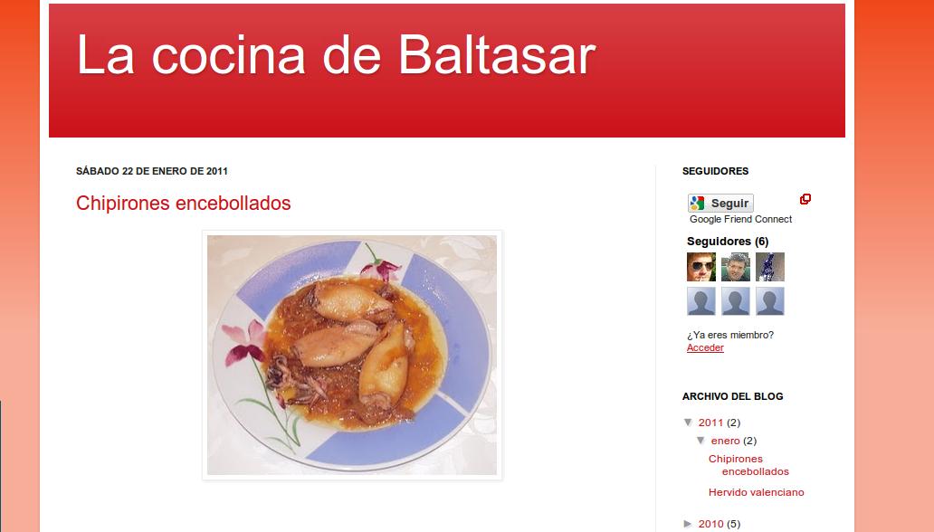 La cocina de baltasar recetas muy originales buscando for Cocinas por internet