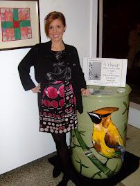 Rainbarrel at Joyce Garner's Gallery!