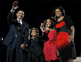 Congs President Obama and family