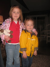 Ella and Drew headed to school!