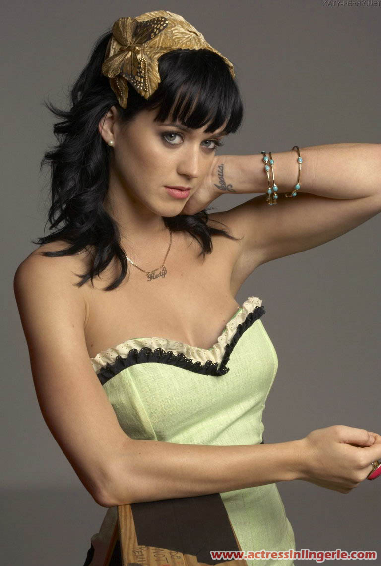Katy Perry en lingerie