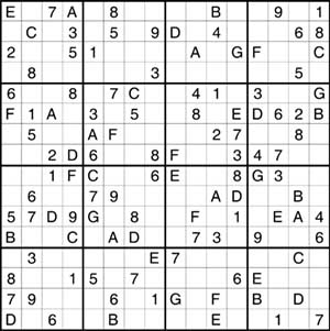 graphic relating to Mega Sudoku Printable identified as When in just a Pink Moon: Sudoku 101