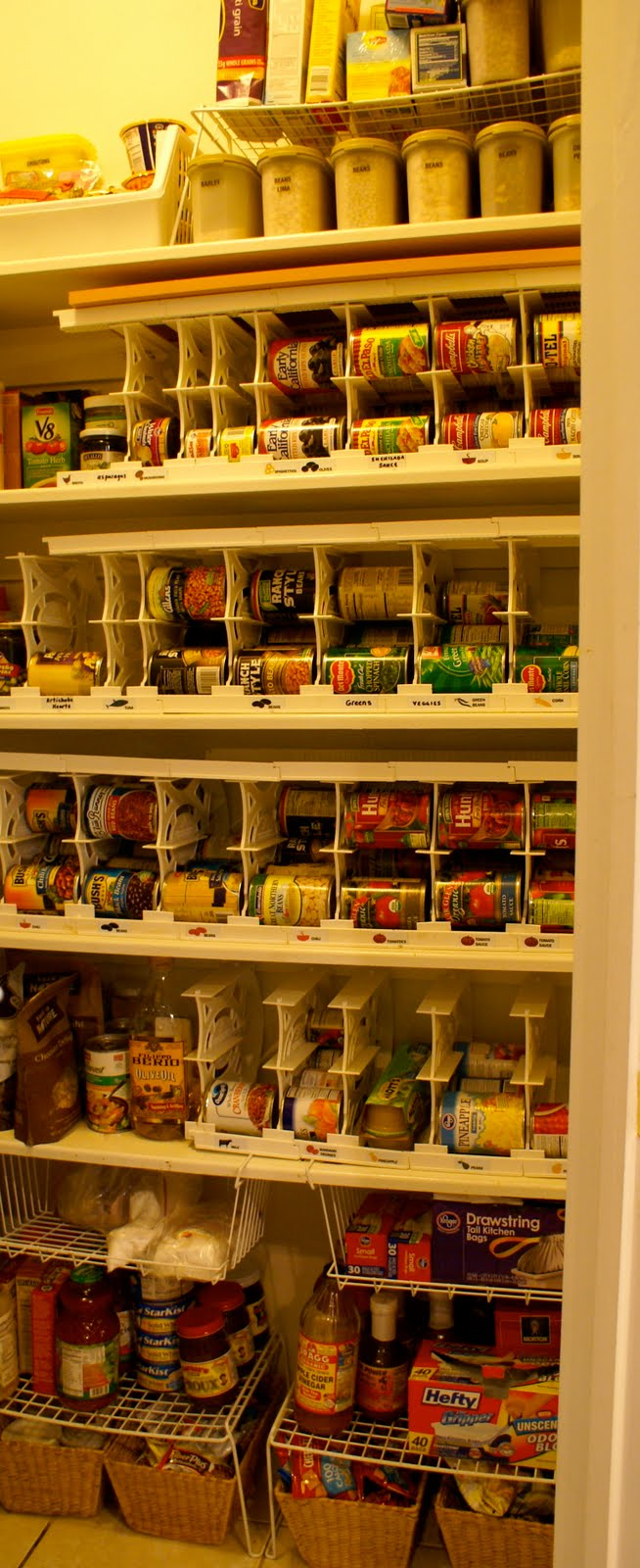 Superbe The VERY Best Way To Store Canned Goods Ever!!!