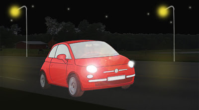 Avoid driving at night as far as possible