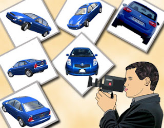 Take a photograph of your car from various angles