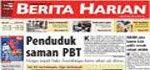Newspaper hari ini...mun nak   baca klik jak sia!