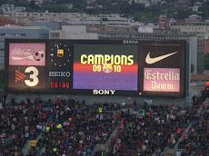 "FC Barcelona wins the spanish ""Liga"""