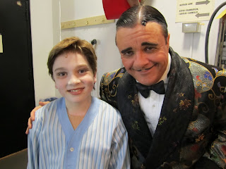 Logan Rowland Pittsburgh Addams Family Broadway Debut