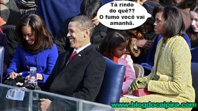 conversa do casal obama