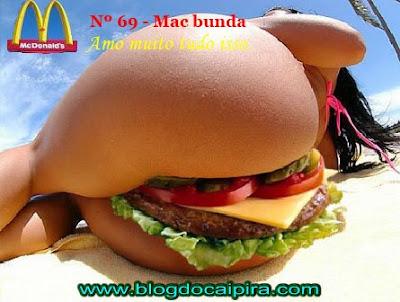 mcbunda o novo lanche do mcdonald's, com edição limitada