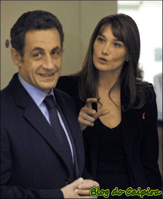 presidente sarcozy e carla bruni