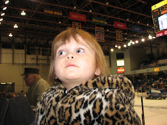 Avery @ a hockey game!