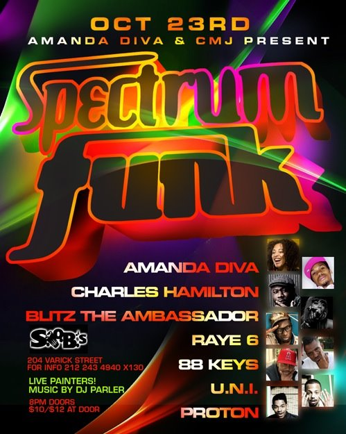 Spectrum Funk...Where Hip Hop Soul gets LIVE!