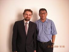 Webdinar COO Abd Aziz & Kelantan Golden Trade CEO,Prof Vadillo at Sedinar 09