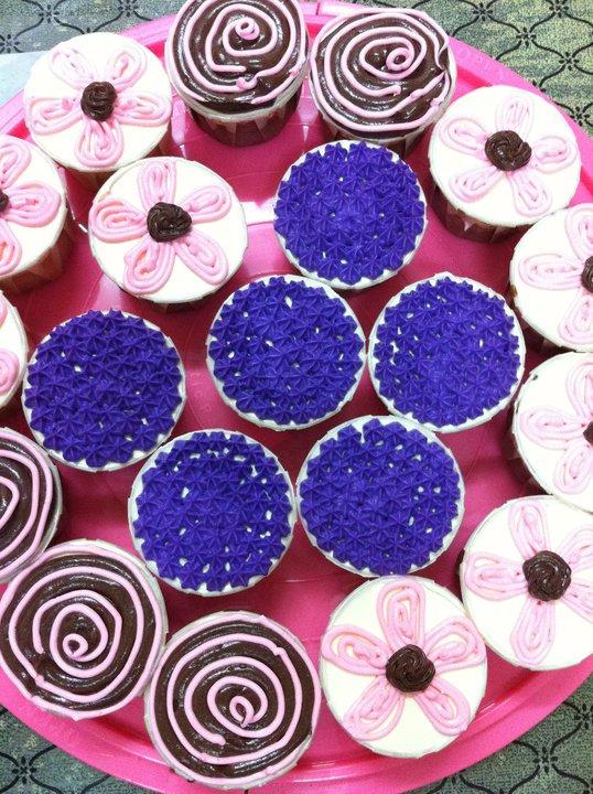 Sarah Cup cake- Tempahan dari Boss Puan Tina for Dept meeting 2010