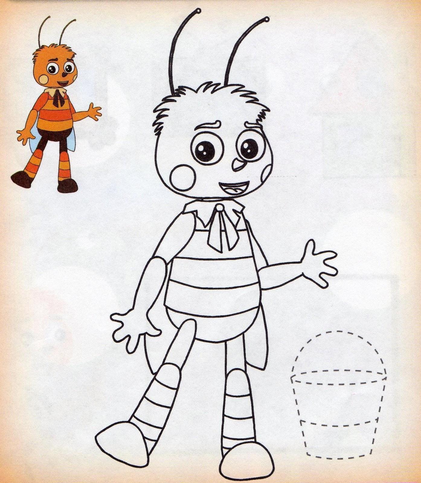 Как рисовать пчеленка