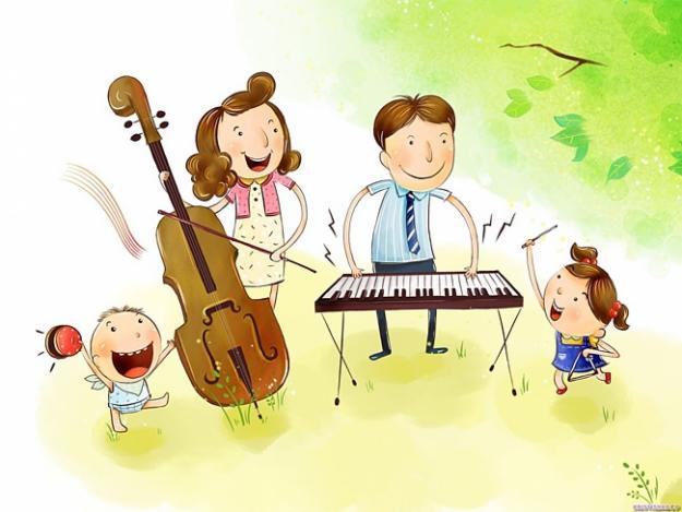 Музыка с семьей